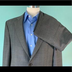 Ralph Lauren Gray Glen Plaid Suit 1428